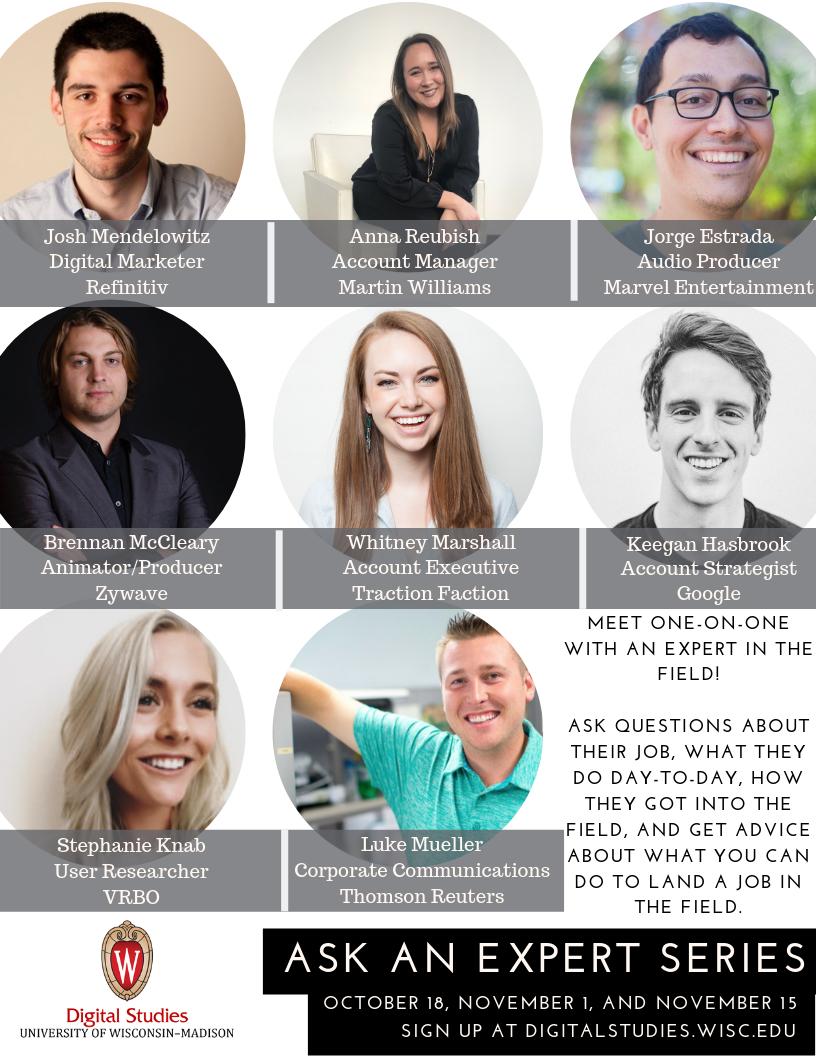 Ask an Expert Event Flyer